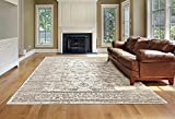 6486 Distressed Cream 8×10 Area Rug Carpet Large New Review