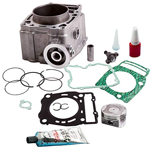 Cylinder Piston Kits Gaskets Top End for Polaris Ranger 500 1999-2012, Polaris Sportsman 500 1996-2013, Polaris Magnum 500 1999-2003, Polaris Scrambler 500 1997-2012