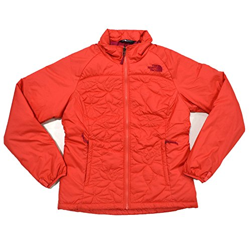 The North Face Dentelles Womens Puffer Jacket Rambutan Pink Authentic (Authentic Pink Ladies Jacket)