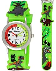 Ravel Children's 3D Dinosaur Time Teacher Watch