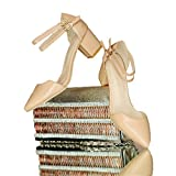 WalterTi Women High thick Heel Sandals Hasp open toe platform sandals work shoes size 35-43 Special offer Beige 6