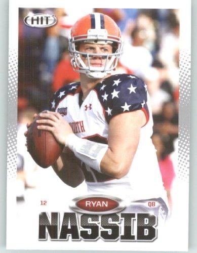 2013 Sage Hit Football Card #112 Ryan Nassib / Syracuse - New York Giants (RC - Rookie Card) NFL Trading - Store Syracuse Ny America