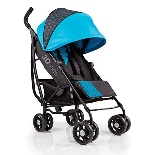 Summer Infant 3D-one Convenience Stroller, Geometric Blue