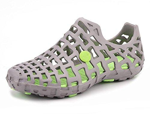 2017 verano nueva pvc pareja de hombres y sandalias casuales zapatillas de casa femeninos 4
