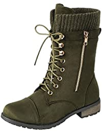 Amazon.com: Green - Boots / Shoes: Clothing, Shoes & Jewelry
