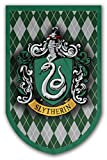 Harry Potter Style Banner - Slytherin Flag 37x24 in - Printed on Both Sides - Durable Enough for Outside Conditions - Perfect Barware Man Cave Gift - Unique HP Collectible Accessories