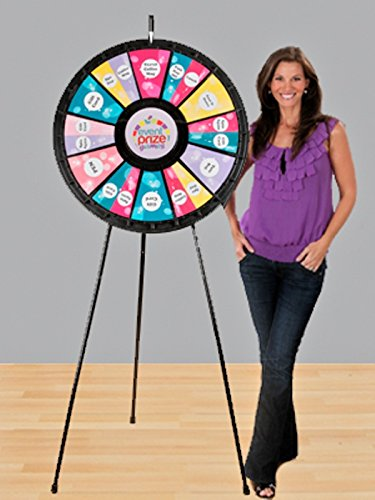 Marketing Holders Games People Play 63016 12 to 24 Slot Floor Stand Prize Wheel Game 31 in. Diameter