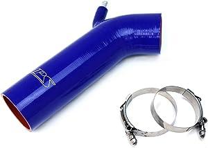 HPS 57-1232-BLUE Blue Silicone Air Intake Hose (Post MAF Tube)