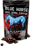 Farm-fresh: 100% Kona Coffee, Dark Roast, Whole Beans, 1 Lb