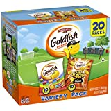 Pepperidge Farm, Goldfish, Crackers, Savory, 18 oz, Variety Pack Box, Snack Pack, 20 Count