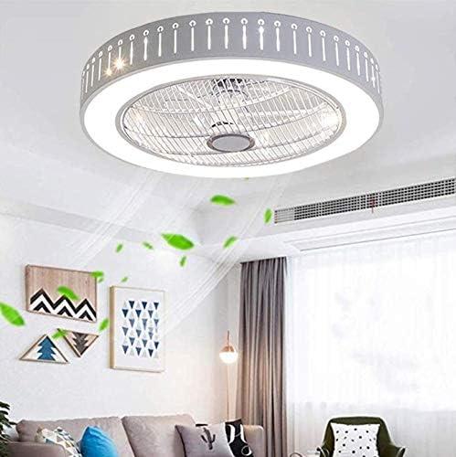 JINWELL Luz Ventilador de techo moderno creativo luz de techo LEDDimmable A-01-stepless Dimming