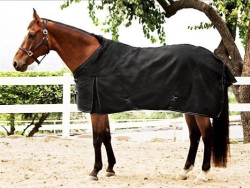 Kensington KPP Kens-i-Tech Light Weight Turnout Rug   Durable, Highly Water Resistant and Breathable   Black, Size - Medium Rug Turnout Horse