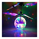 traxxas block engine - Hand Flying UFO Ball LED Mini Induction Suspension RC Aircraft Flying Toy Ball