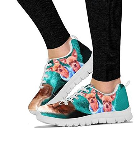 Dog Choose Shoes Beautiful Running Breed Print Chihuahua Casual Your Shoetup Women's 5BU0qw