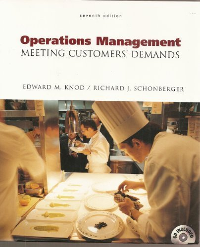 Download Operations Management Meeting Customers' Demands, 7th Edition pdf