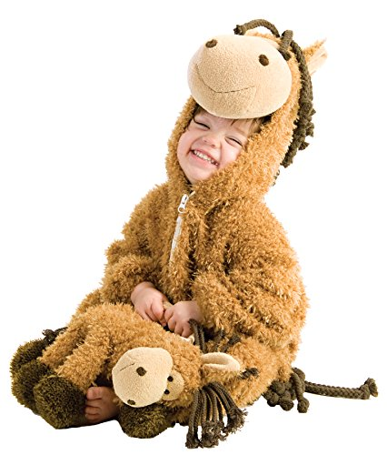 [UHC Happy Horse Jumpsuit Furry Animal Theme Toddler Halloween Costume, 12-18M] (Ultimate Party Animal Halloween Costume)