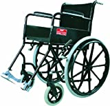 Vissco Modified Black Magic Wheel Chair with Mag Wheels - Universal