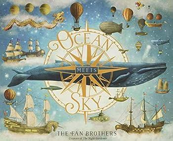 Ocean Meets Sky Hardcover Picture Book