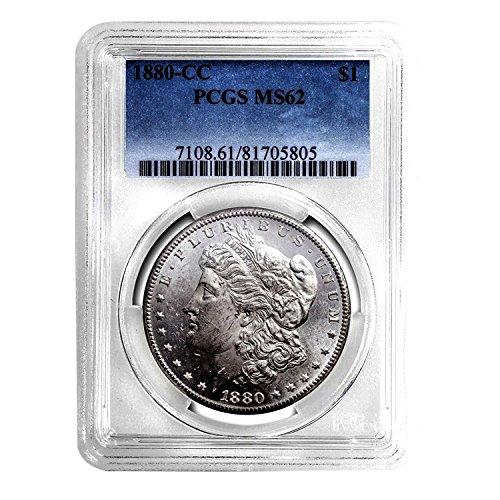 1880 CC Morgan Dollar $1 MS-62 PCGS