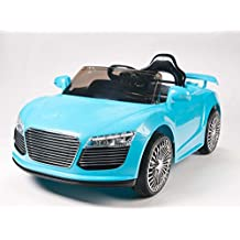 Upgrated Model Audi R8 Sport Style Kids Ride on Toy Car, Remote Control, Lights, Music by Kidsviponline
