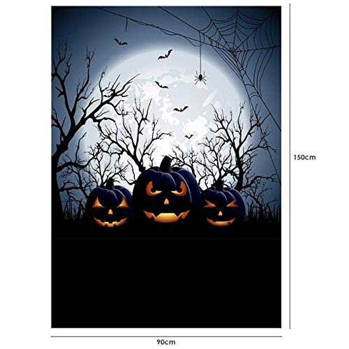 VDV Halloween Theme Photography Background Cloth Backdrop Photographic Props Party Decoration Photography Backdrop Curtain 8 Style-W17