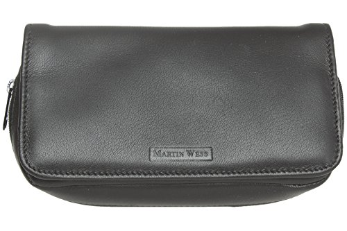 Martin Wess Lea 2 Pipe Combo Pouch - K28 by Martin Wess