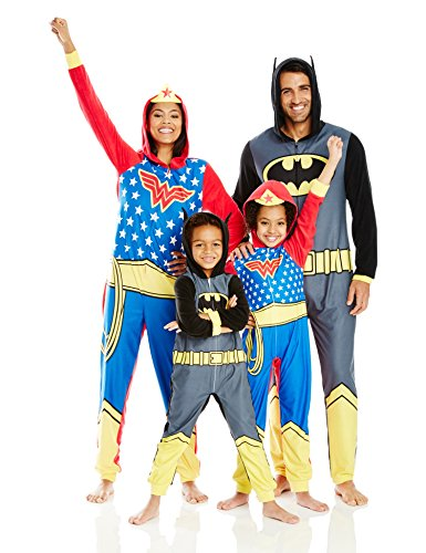 Justice League Family Sleepwear Cosplay Union Suit at Gotham City Store
