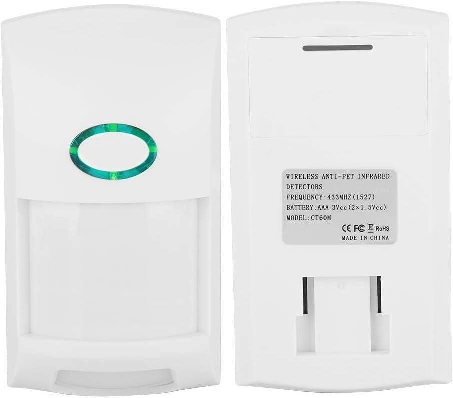D/étecteur de Mouvement PIR Capteur Infrarouge Portable dalarme de S/écurit/é Capteur Intelligent pour Animaux de Compagnie Evasion