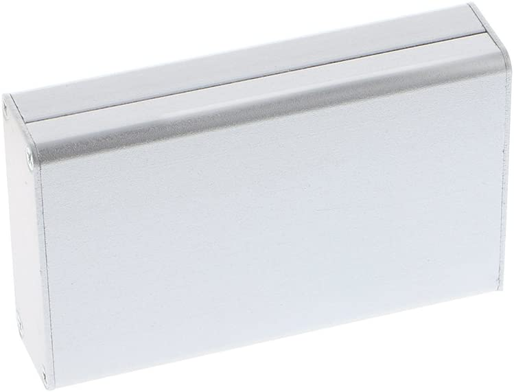 ATATMOUNT Bo/îtier dinstrument de Bricolage /électronique de bo/îtier de Projet en Aluminium 80x50x20mm