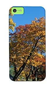 Case For Iphone 5c Tpu Phone Case Cover(ehrwald In Autumn, Alps, Tyrol, Austria ) For Thanksgiving Day's Gift