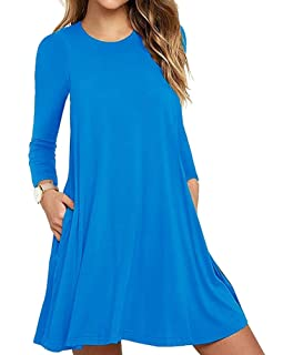 04c6771412 Summer Beach Dresses for Women Tank Top Bikini Swimwear Cover Up Plain  Pleated Loose