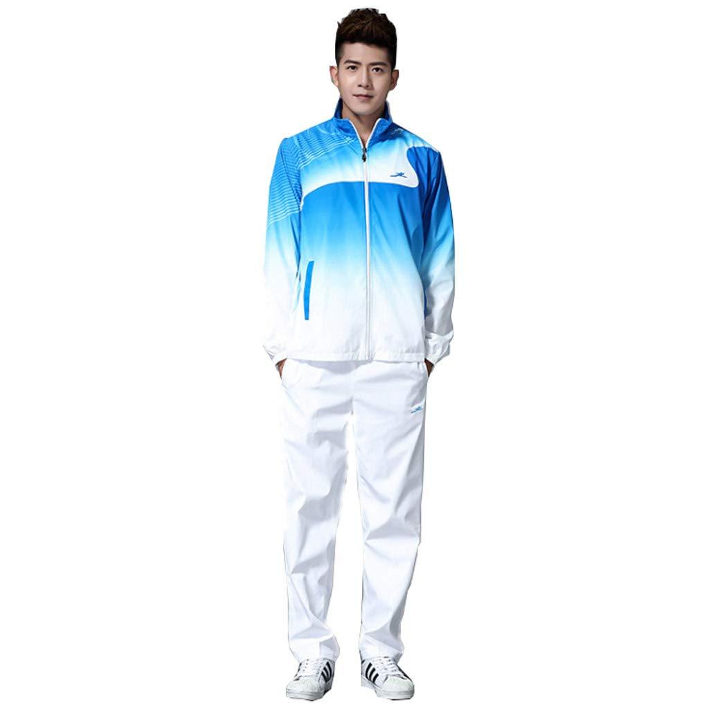 Lilongjiao Herren Sportswear Suit Full Zipper Top Jogging Laufen Gym Sportswear Atmungsaktive Sportswear Outdoor Sportswear Suit
