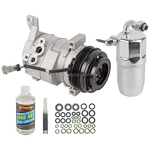 AC Compressor w/A/C Repair Kit For Chevy Silverado GMC Yukon Cadillac - BuyAutoParts 60-80480RK New