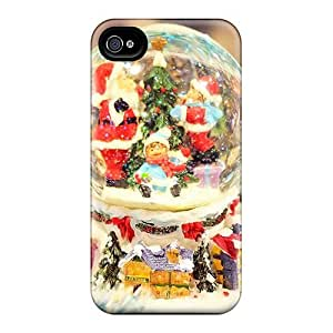 New Arrival Christmas World For Iphone 4/4s Case Cover