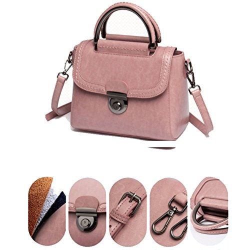 Bag Ms Bolsa Mano Bolso Leather Bolso Bolso Mensajero De Bag De La Leather De Cuero Ms Shoulder Citronpowder Las Mujeres Handbag Hombro Del Handpiece Shoulder Cuero Mano Del De Bag Messenger Women's Bag De De Citronpowder Pieza XwYFv