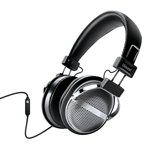 Auriculares iSound DGHP-5526 HM-270 Stereo con Inline Mic & Volume Negro