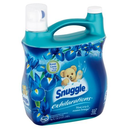 Amazon.com: Snuggle Exhilarations Fabric Softener Liquid, Blue Iris, 96 loads: Health & Personal Care