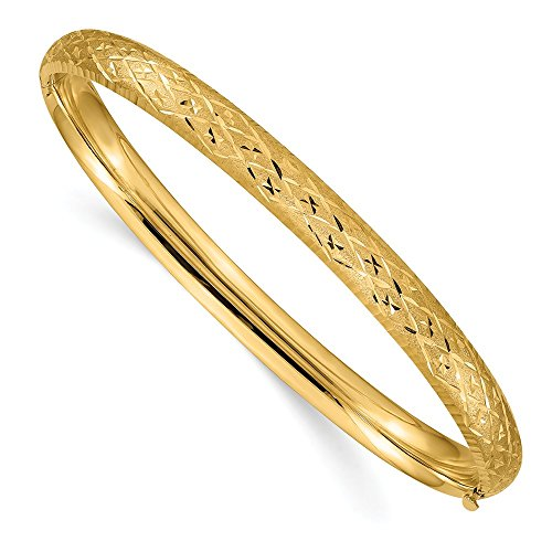 14k Yellow Gold 6.35mm...