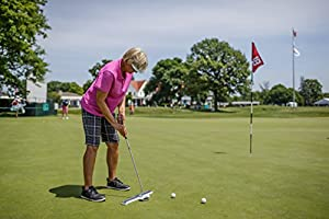 INPUTT: Golf Putting Training Aid - Durable, Portable, Easy to Use, for Golf Putting. Best Putting Training Aid EVER test by SAM Putt Lab. 60-Day Refund, No Gimmicks!