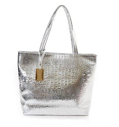 Coquelicot et Coccinelle, Borsa a spalla donna argento argento