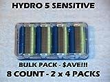 #10: Schick Hydro 5 Sensitive - 8 Count Bulk Pack (2 x 4 Packs)