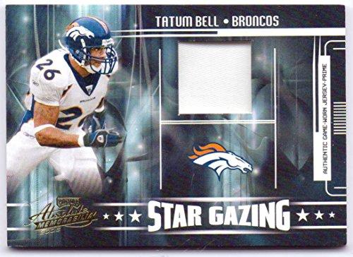 Clinton Portis 2005 Playoff Absolute Memorabilia Star Gazing Game Worn Jersey Prime #SG-12 - 075/150 - Denver Broncos
