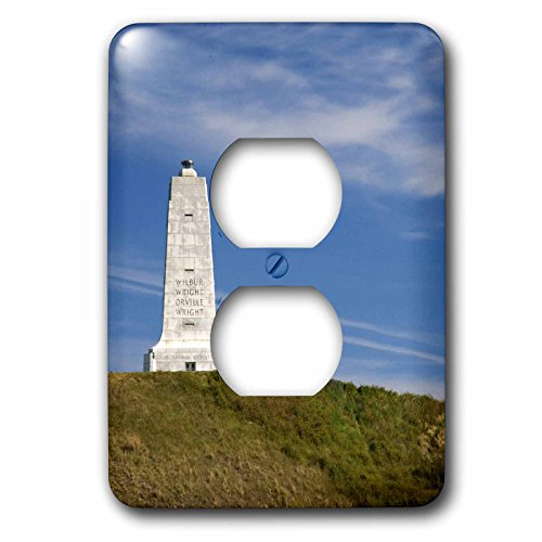 - Danita Delimont - North Carolina - Wright Brothers National Monument North Carolina - US34 DFR0012 - David R. Frazier - Light Switch Covers - 2 plug outlet cover (lsp_93242_6)