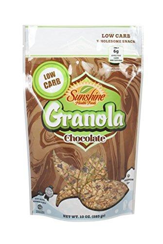 Sunshine's Low Carb Granola (10 oz) Sugar Free, chocolate