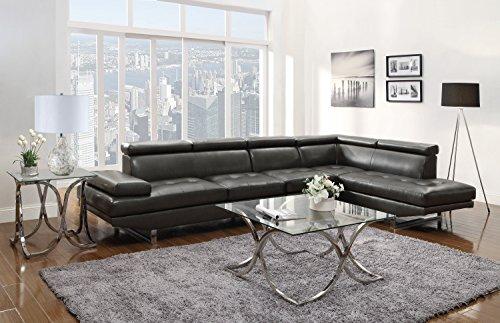 Coaster Home Furnishings 503029AC Contemporary Armless Chair, (Home Furnishings)