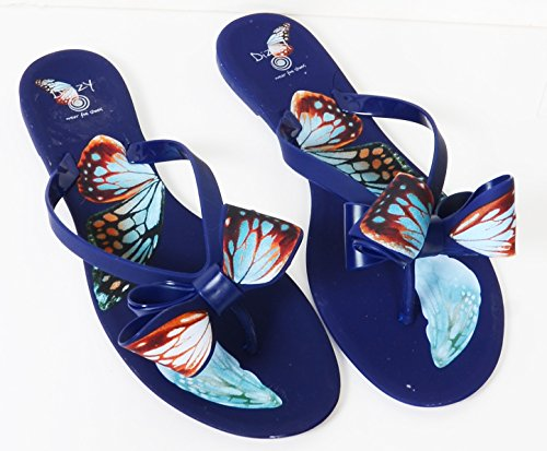 Jelly Vlinderstrikken Strand Sandaal Teenslippers Dames