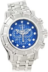 Invicta Men's Reserve Steel Bracelet & Case Swiss Quartz Blue Dial Analog Watch 16759
