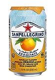 Sanpellegrino Orange Sparkling Fruit Beverage, 11.15 fl oz. Cans (24 Count)