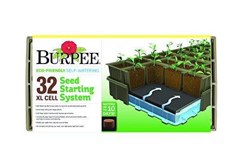 Burpee 32 Cell Compostable Seed Starting Kit