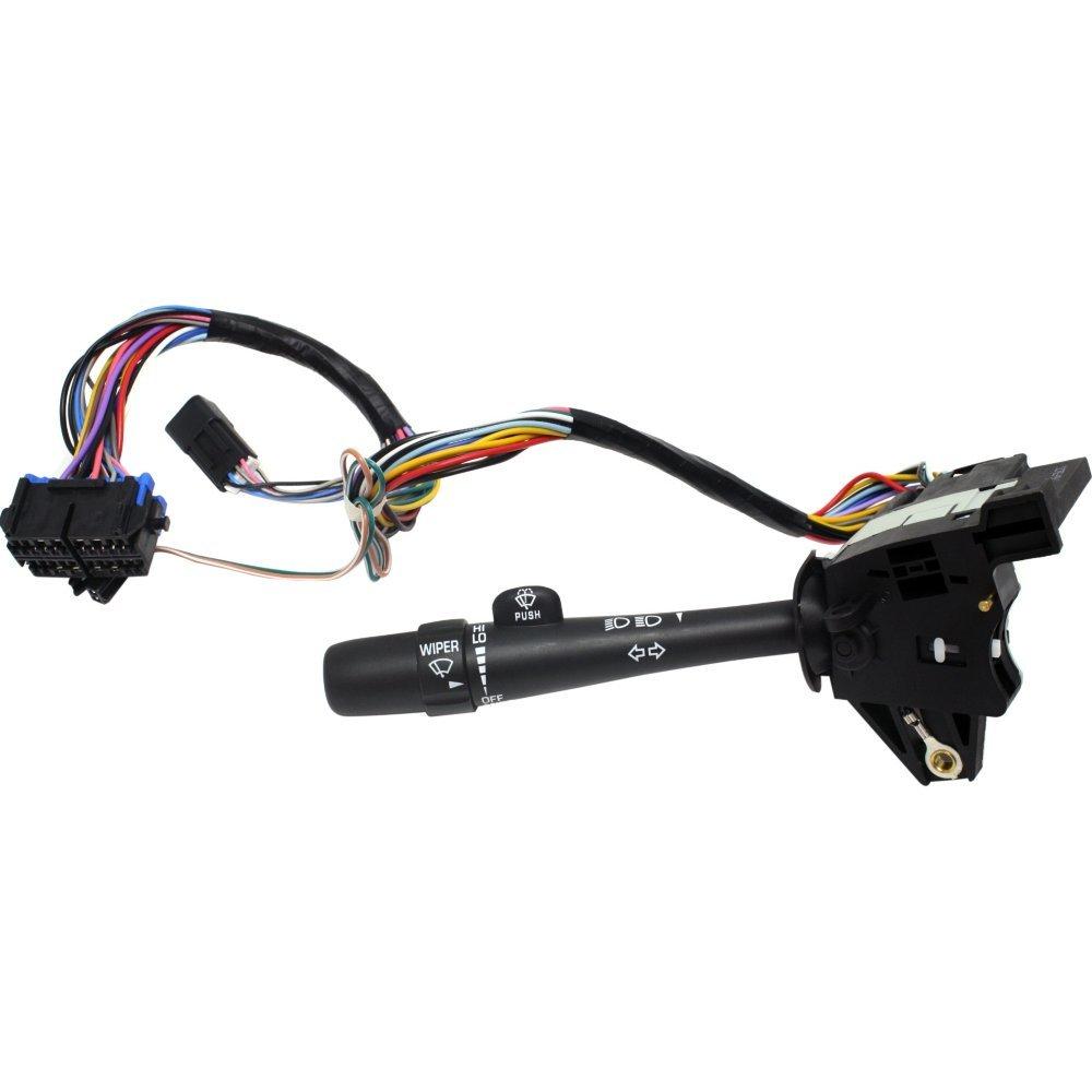 Evan-Fischer EVA1617206924 Turn Signal Switch for Chevrolet Impala 2000-2005 Turn signal only Wiper/Windshield Washer Headlight Dimmer
